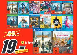 [Lokal: MM Neumünster] Devil May Cry 5 (Xbox One) / Resident Evil 2 (Remake PS4 / XBO ) / Tom Clancy's The Division 2 PS4 für je 19€