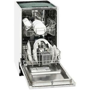 Geschirrspüler EXQUISIT EGSP 1009E 45cm Breite A++ vollintegrierbar inkl. Versand
