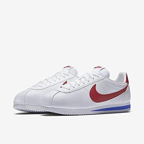 Nike Classic Cortez Sneaker (Weiß/Varsity Red-varsity Royal))