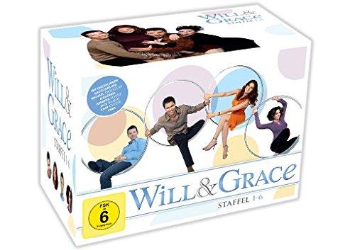 Will & Grace Box Staffel 1-6 (24 DVDs) für 33€ versandkostenfrei (Media Markt)