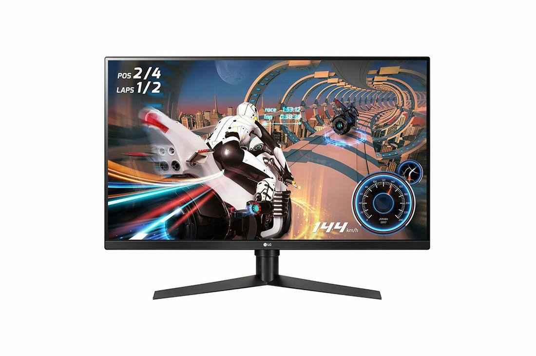 """Monitor LG GK850F 31,5"""" Freesync2 WQHD 1440p 144Hz VA Panel"""