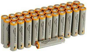 AmazonBasics Performance AAA Batterien, 36 Stück