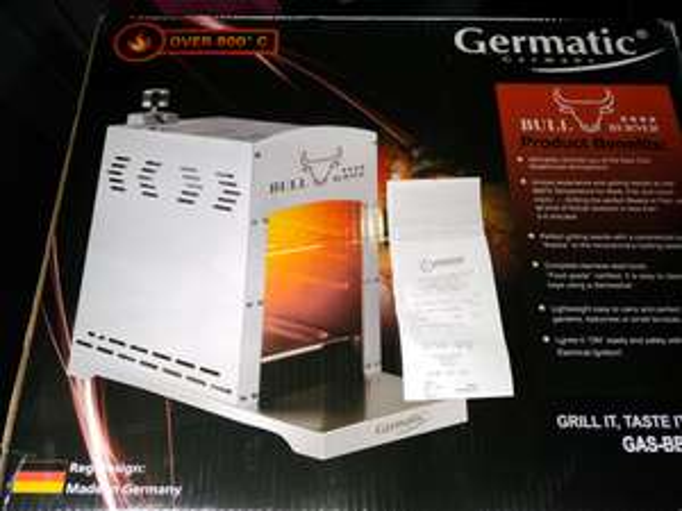 Gasgrill Germatic Bull Burner steakgrill @poco rheda wiedenbrück lokal..eventuell bundesweit