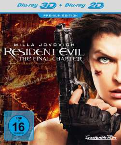 Resident Evil: The final Chapter 3D Blu ray