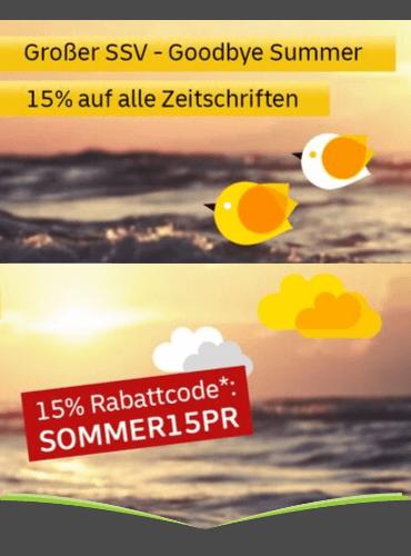 [leserservice] 15% Rabatt auf Zeitschriftenabos ab 25€ Mindestbestellwert - Stiftung Warentest, LTB, Mein schöner Garten, TV Digital XXL uw.