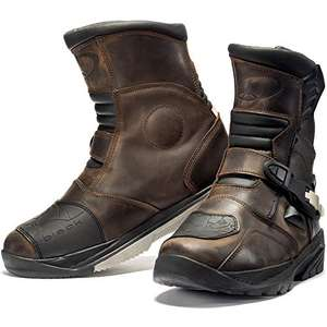 (Amazon ) Gr.43/45/46/47 90-97€ BLACK Rogue Adventure  Motorradstiefel