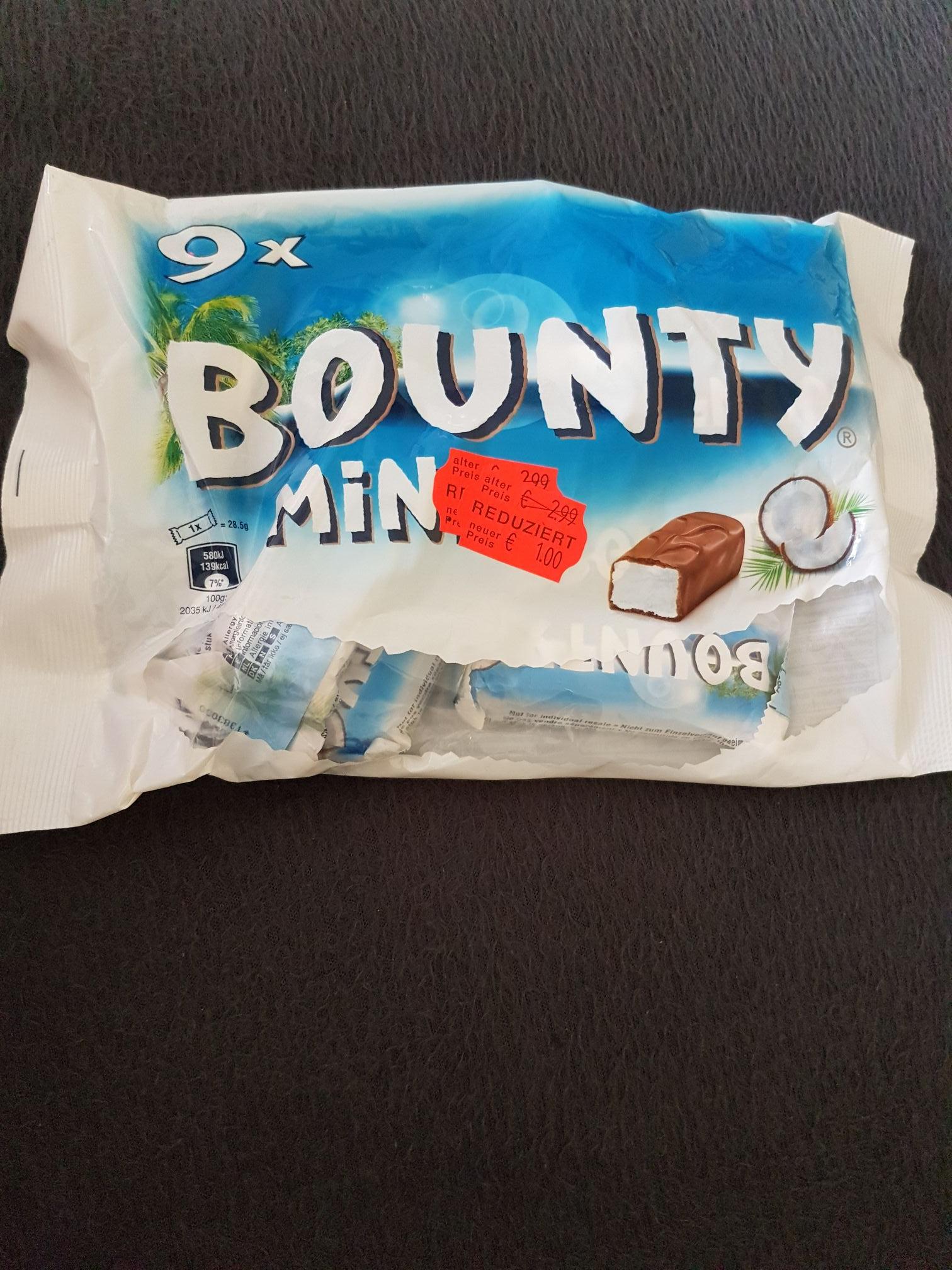 (Lokal Rinteln) bei Combi Bounty Minis 9x 275g