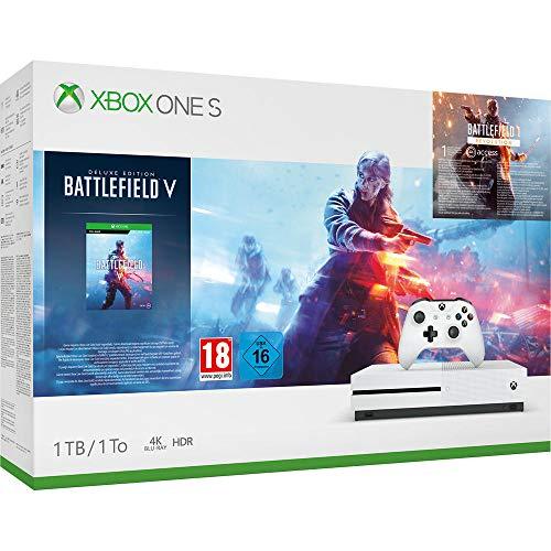 Xbox One S 1TB - Battlefield V: Deluxe Edition Bundle für 186,60€ (Amazon FR)