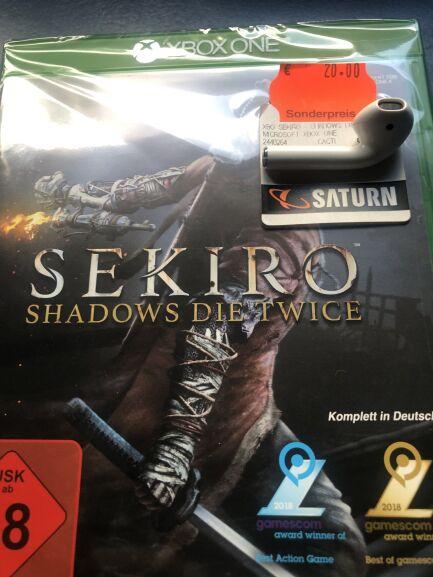 Sekiro Shadows Die Twice Xbox One / SATURN Berlin Gesundbrunnen [Lokal]