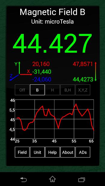 Ultimate EFM Detector Pro kostenlos (Android)