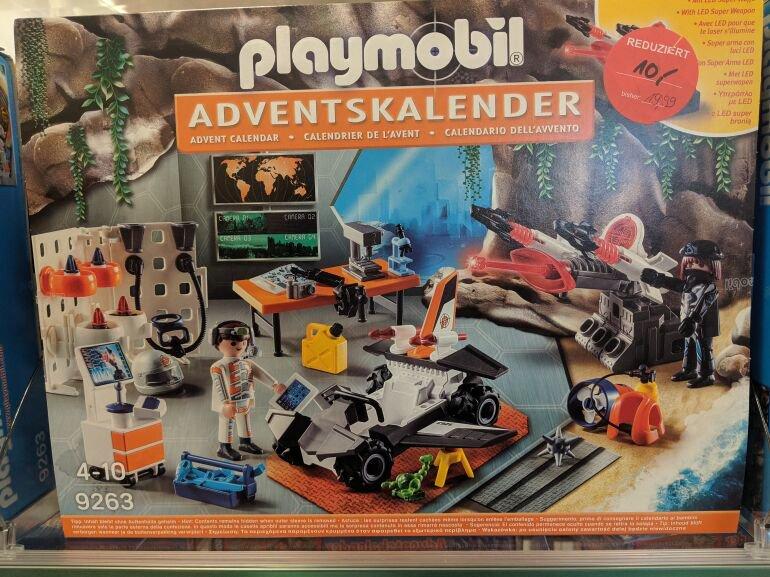 Lokal Müller Bogen: Playmobil Adventskalender Spy Team Werkstatt