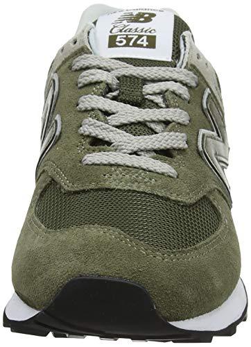 Amazon New Balance 574 Sneaker Olive Herren Gr. 46,5