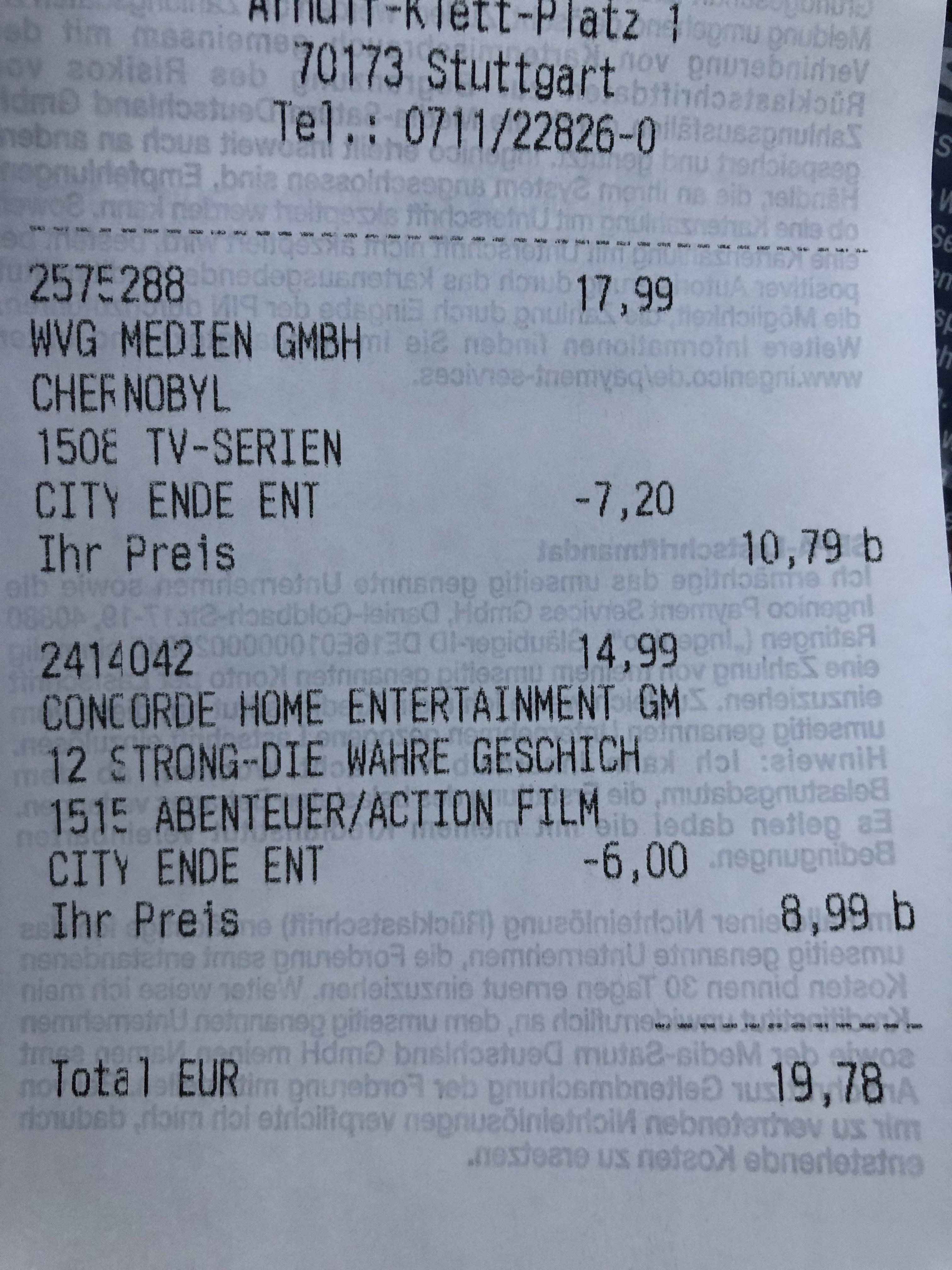 (Lokal Saturn Stuttgart) 40% auf 4k, Blu-rays, PS4 Games, CD's...