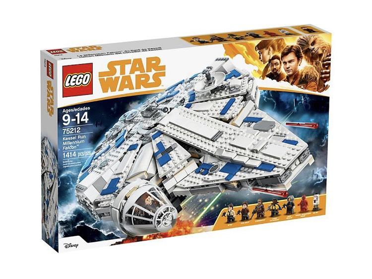 LEGO Star Wars Kessel Run Millennium Falcon™ + Die Schlacht um Hoth™ als Mikromodell