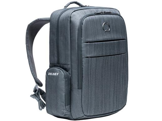 """Delsey Notebook-Rucksack """"Clair"""" (15.6"""", 43 x 34 x 15 cm, 0.8 kg, Laptopfach, RFID-Fach Diebstahlsicherung, Rückseite gepolstert) [iBOOD]"""