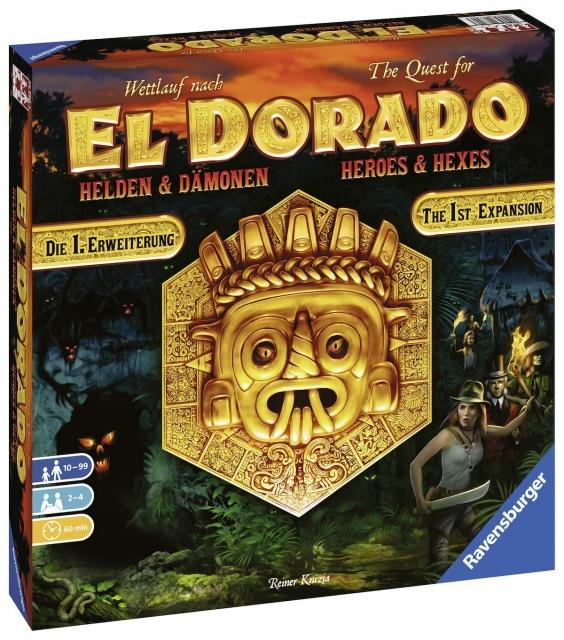 Einige gute Brettspiel-Angebote z.B. Wettlauf nach El Dorado + Erweiterung, Santorini, Imhotep, Adventure Island