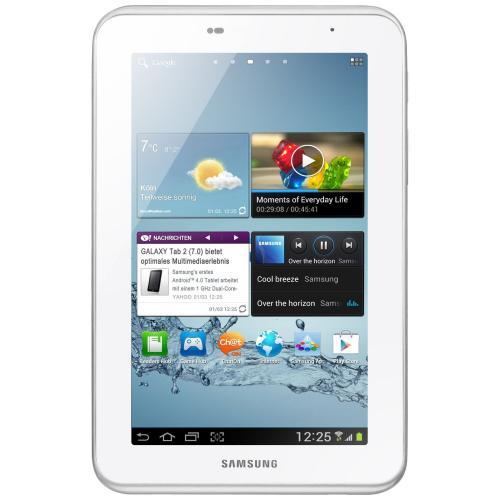 """SAMSUNG Galaxy Tab 2 - 7.0 - 7"""" - 8GB WIFI GT-P3110 [Weiß]"""