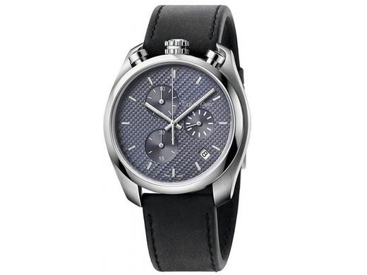 """Calvin Klein Herren Armbanduhr """"K6Z371C4"""" (Chronograph, Quarzwerk, Wasserdicht bis 10 bar/ATM) [iBOOD]"""