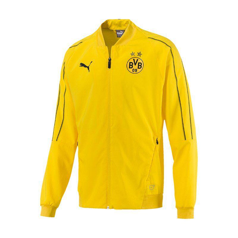[11Teamsport] PUMA BVB Dortmund Leisure Jacke Jacket Gelb F01