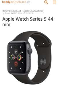 Apple Watch 5 mit Vodafone Smart L Plus (10GB Datenvolumen)