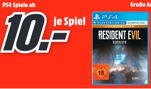 [Lokal: Media Märkte Schweinfurt, Bad Neustadt] Resident Evil 7: Biohazard Gold Edition (PS4) | Mass Effect:Andromeda Xbox One =4€