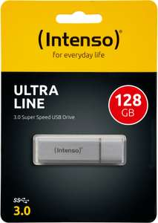 Intenso USB Stick 128GB USB-Stick Ultra Line USB 3.0 silber