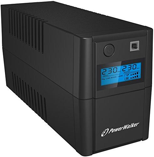 """BlueWalker PowerWalker VI 650 SHL - solide """"Schreibtisch"""" USV"""