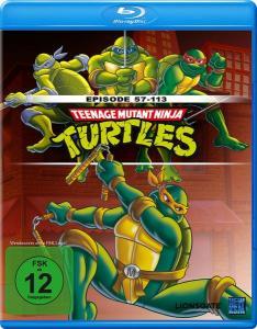 Teenage Mutant Ninja Turtles - Episoden 57-113 (Blu-ray) für 10€ versandkostenfrei (Media Markt)