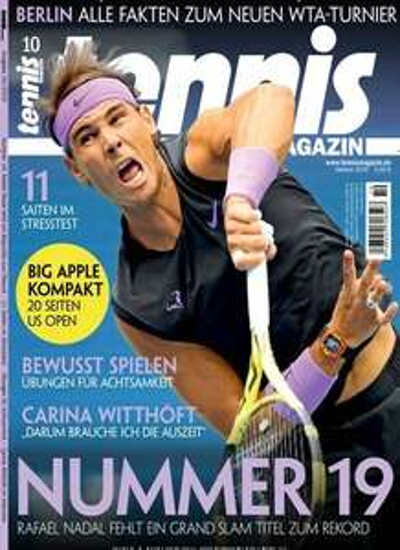 Tennis Magazin Abo (10 Ausgaben) für 68 € mit 60 € Amazon-Gutschein
