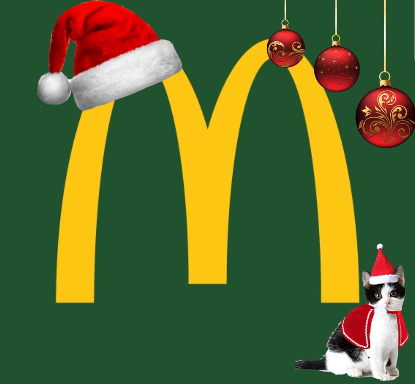 McDonald's Weihnachtscountdown vom 17.10. - 13.11. z.B. RedBull Gratis, McFlurry o. 6er Chicken Nuggets für 1€ [McDonald's]