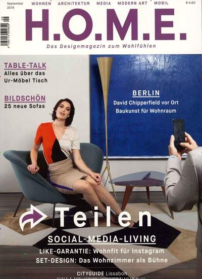 HOME Magazin Abo (10 Ausgaben) für 40 € mit einem 30 € Amazon-Gutschein/ 25 € Verrechnungsscheck
