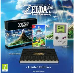 The Legend of Zelda: Link's Awakening, Limited Edition (Nintendo Switch)