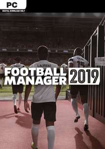 Football Manager 2019 (Steam) für 10,19€ (CDkeys)