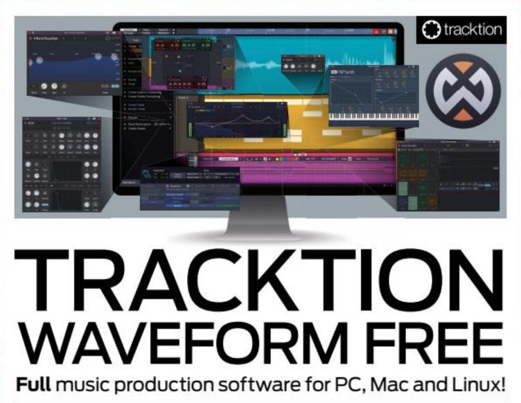 Tracktion Waveform 10 Free - DAW für PC, Mac, Linux und Raspberry Pi