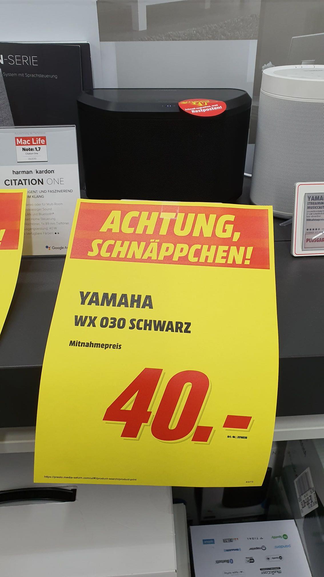 [Lokal] MM Offenburg - Yamaha wx 030 für 40€, harman kardon citation one für 90 €