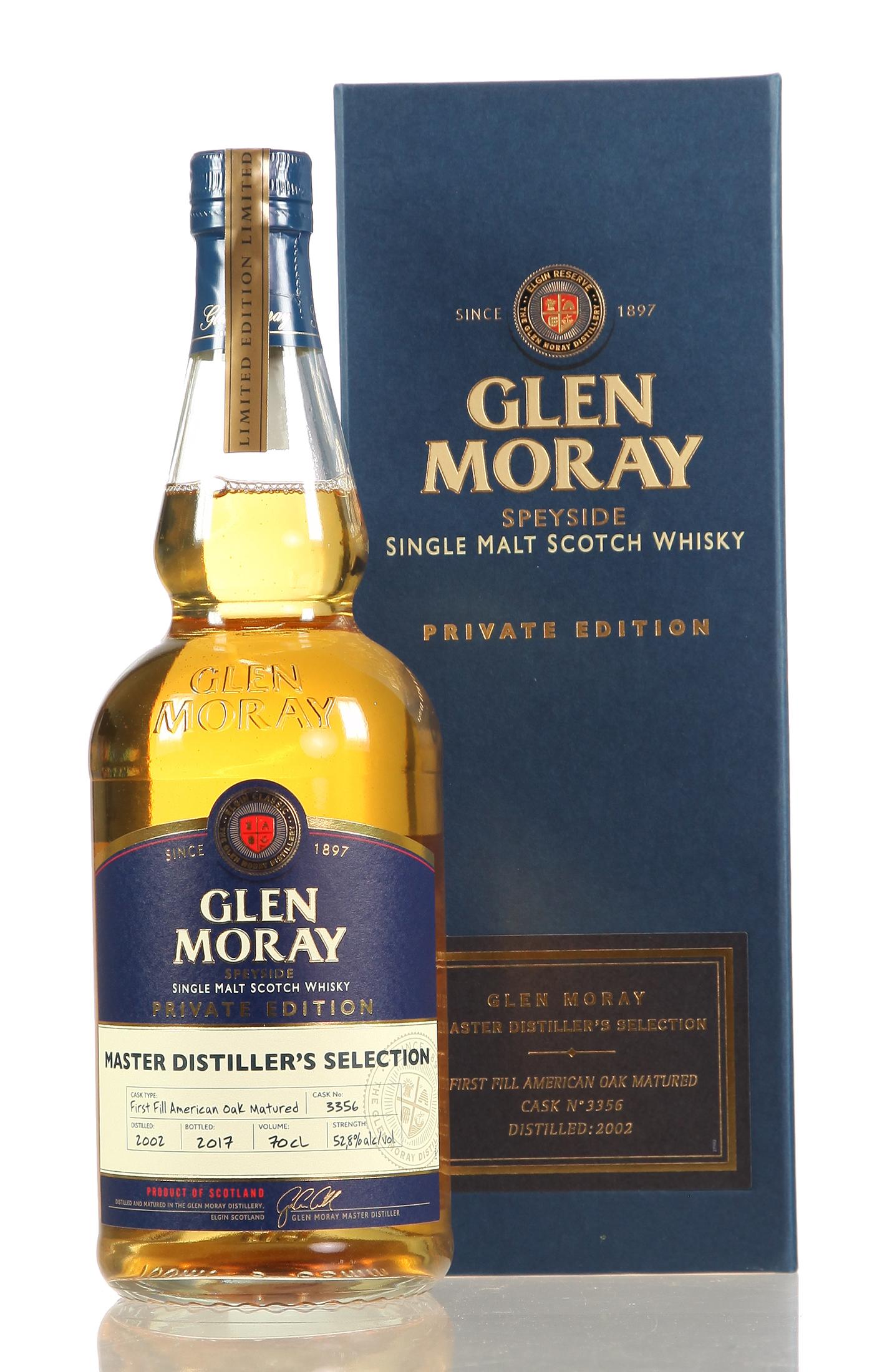 Glen Moray Private Edition 1st Fill American Oak/ Sauternes Single Malt Whisky
