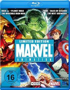 Marvel Animation Limited Edition (5x Blu-ray) für 17€ versandkostenfrei (Media Markt)