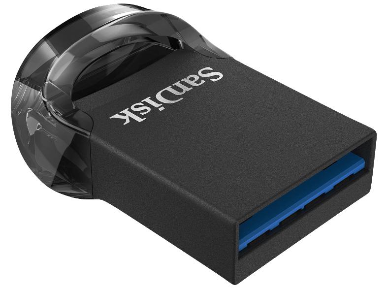SanDisk Ultra Fit 128 GB Flashlaufwerk USB 3.1 [MediaMarkt]