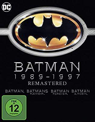 Batman 1-4 - Remastered [Blu-ray] [Amazon Prime]