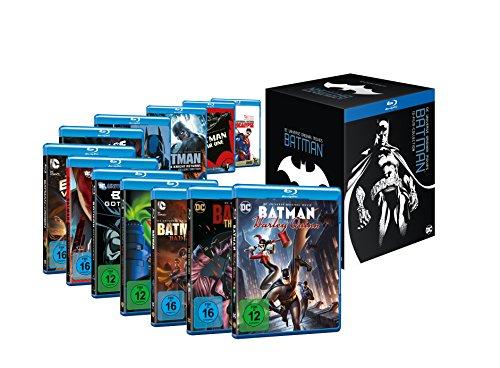 DCU Animation Batman Collection Limited Edition (13-Filme Set Blu-ray) für 59,97€ (Amazon)