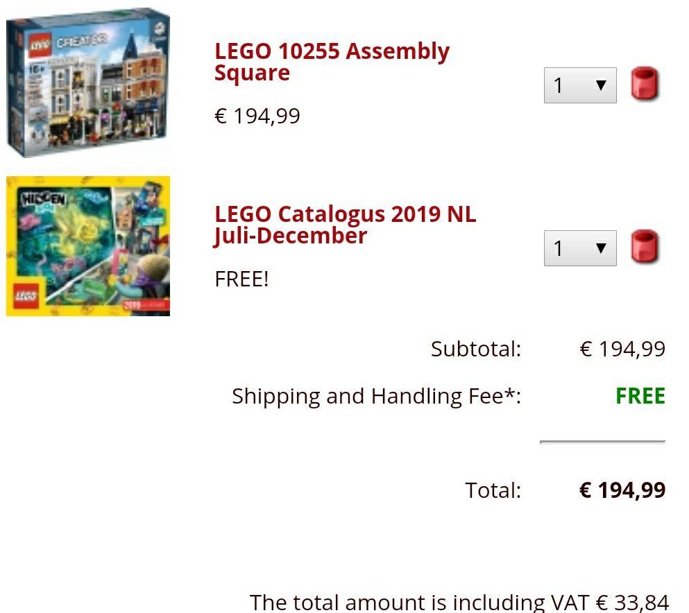 LEGO Creator - Stadtleben (10255) - Brickshop.eu