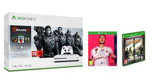 Xbox One S 1TB Gears 5 Bundle + Tom Clancy's The Division 2 Limited Edition + FIFA 20 für 233,96€ (Amazon UK)