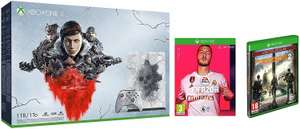 Microsoft XBox One X 1 TB GEARS 5 Limited Edition + FIFA 20 & Tom Clancy's The Division 2 Limited Edition