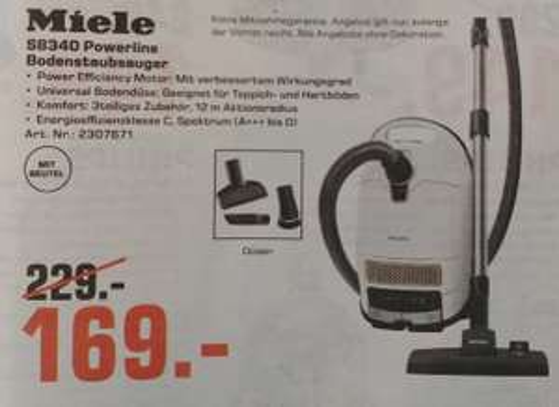 [Lokal] Miele S 8340 PowerLine (Saturn Rhein-Main)