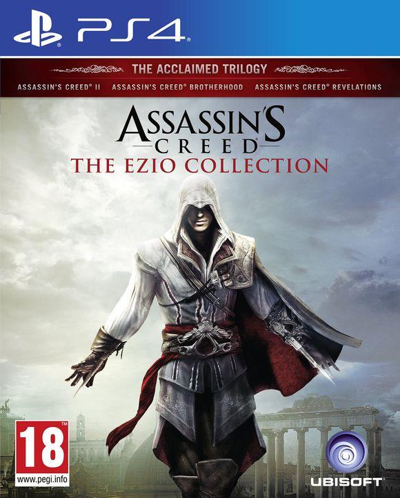 Assassin's Creed: The Ezio Collection (PS4) für 14,95€ (Coolshop)