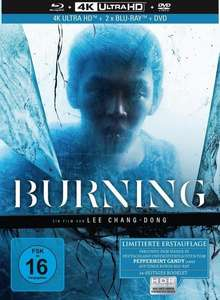 Burning - 4-Disc Limited Collector's Edition Mediabook (4K Ultra HD + Blu-ray + Bonus-Film Peppermint Candy + DVD) [thalia.de Vorbestellung]