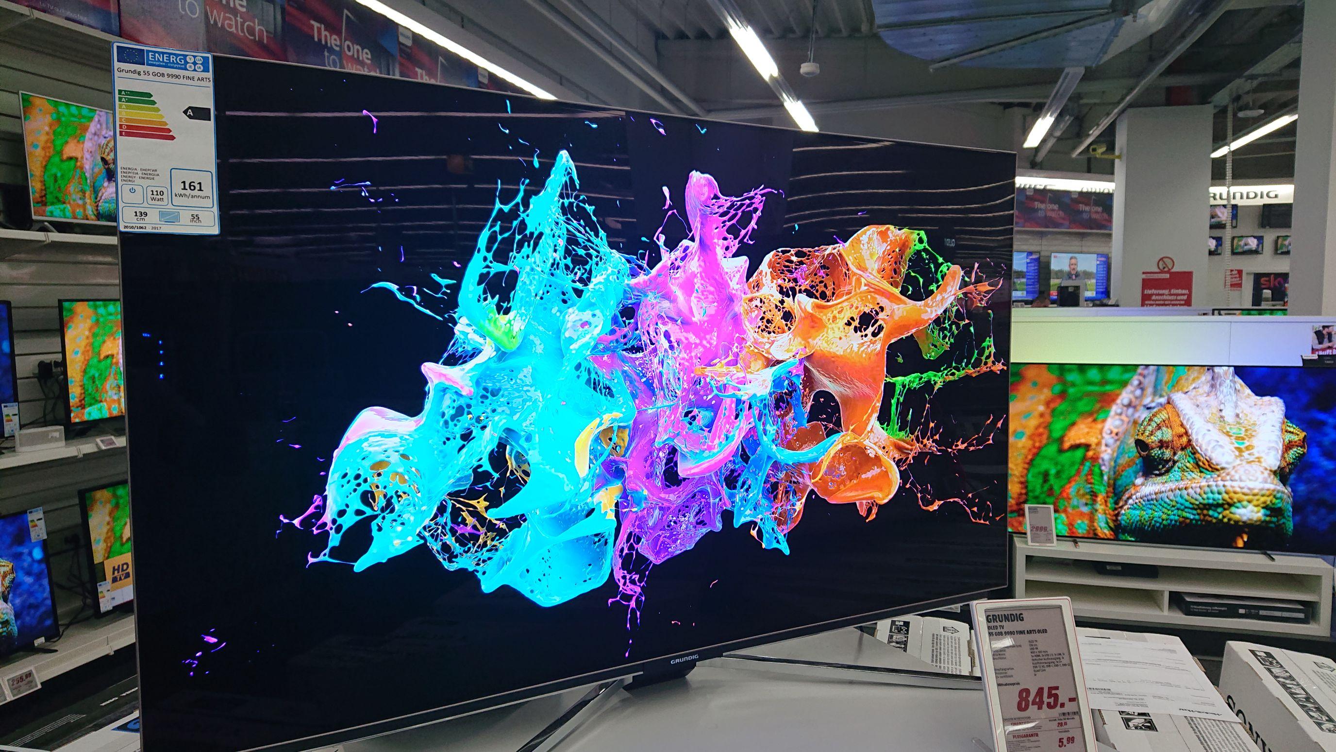 Grundig 55 Zoll 4K OLED TV [Lokal Mediamarkt Erlangen]