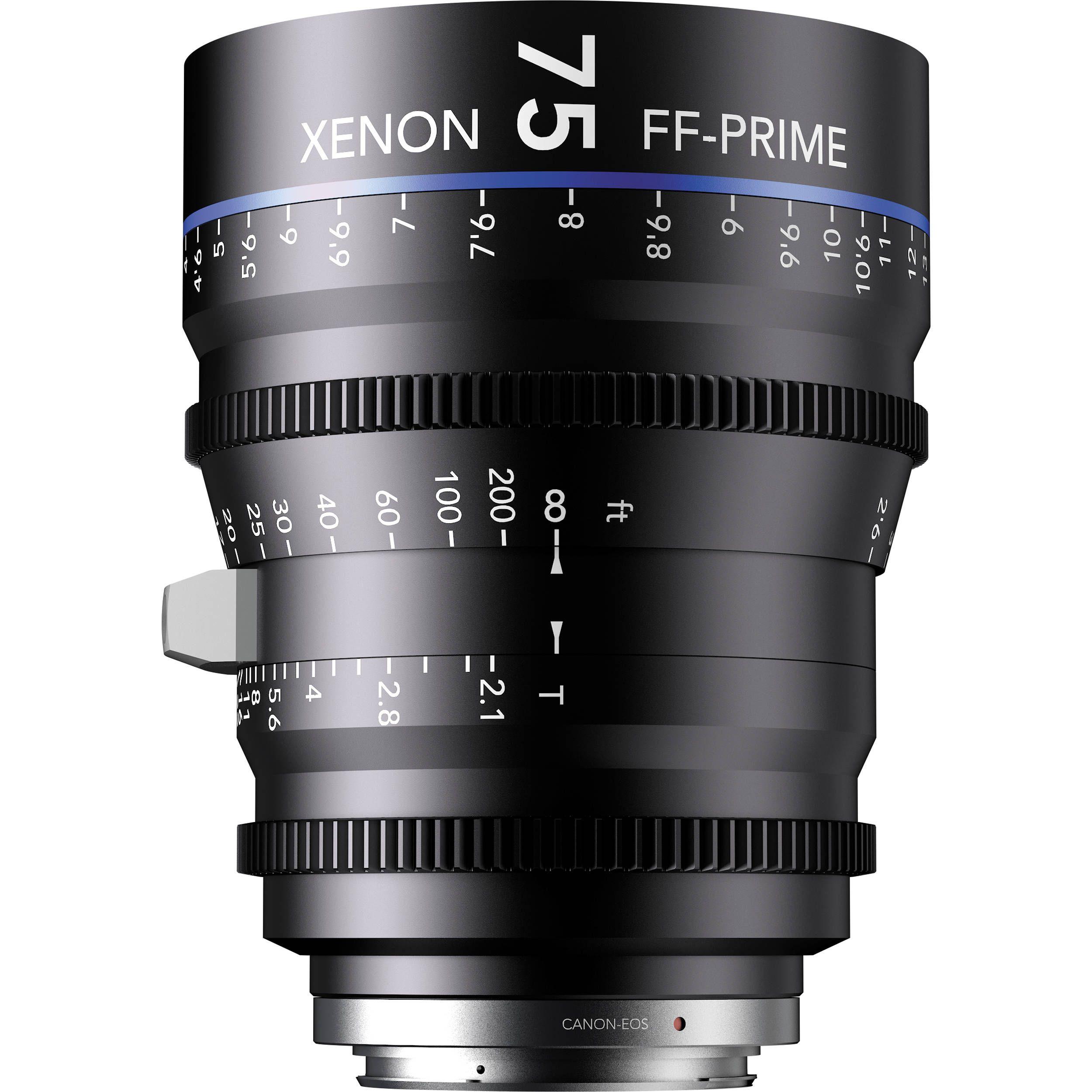 Schneider Kreuznach FF-Prime XN 2.1/75 EF Video-Objektiv [Canon EOS]