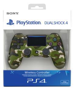 Sony PlayStation 4 DualShock 4 Wireless Controller V2 (Camouflage & Blau & Rot & Steel Black) für je 41,82€ (ShopTo)