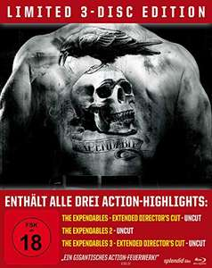 The Expendables Trilogie Limited Steelbook Edition (Blu-ray) für 14,99€ (Amazon & Saturn)